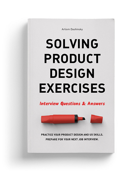 Book Cover Design Questions : Solving product design exercises interview questions